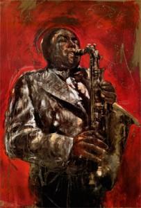 Visuell njutning - Saxofonmusik är själamusik - Inom hip hop används tunga jazzinfluenser